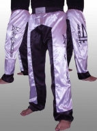 4 FIGHT Sports Kick-Box nadrág (076) -White Star- XL