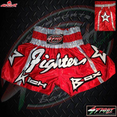 7056e1a590 4Fight Thai-Box Short - Fighter Red (S) - Kuzdosportfelszereles.hu ...