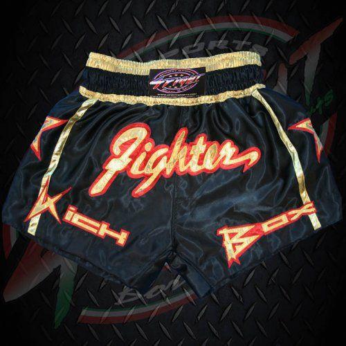 7836be6c3f 4Fight Thai-Box Short - Fighter Gold (S) - Kuzdosportfelszereles.hu ...